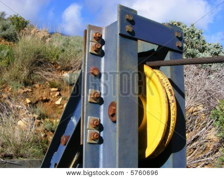Pulley And Cable