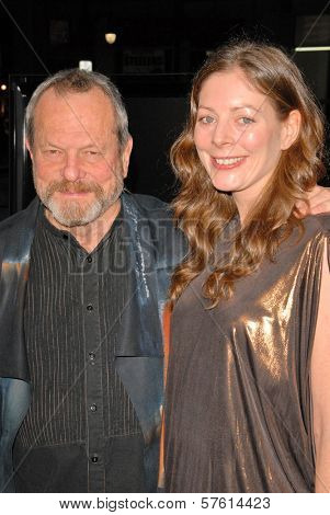 Terry Gilliam and wife Amy at the AFI Fest Gala Screening of