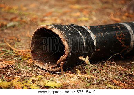 Old didgeridoo