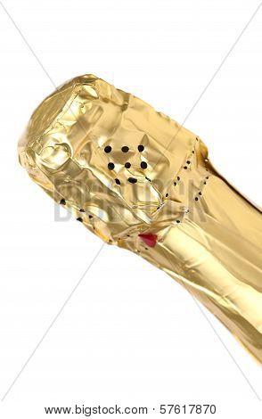 Bottleneck of champange.