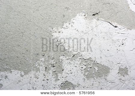 Alabaster Plaster With  Concrete Wall. Abstract Textured Background.
