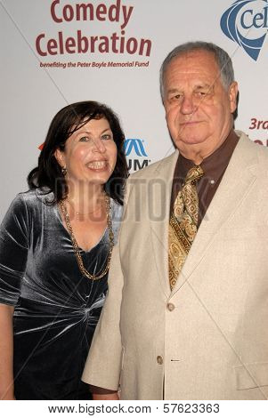 Winnie Holzman and Paul Dooley at the International Myeloma Foundation's 3rd Annual Comedy Celebration for the Peter Boyle Memorial Fund, Wilshire Ebell Theater, Los Angeles, CA. 11-07-09