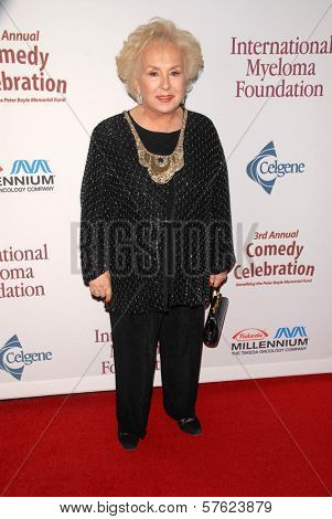 Doris Roberts at the International Myeloma Foundation's 3rd Annual Comedy Celebration for the Peter Boyle Memorial Fund, Wilshire Ebell Theater, Los Angeles, CA. 11-07-09