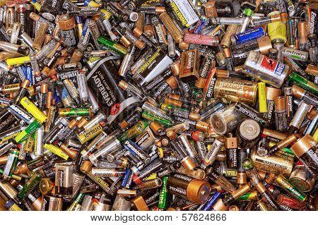 Many Dead Batteries