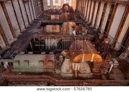 Abandoned Turbines