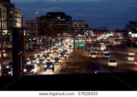 Traffic Tysons Corner