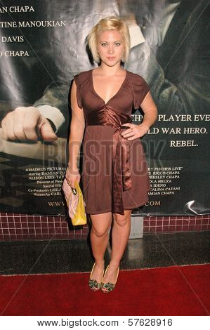 Noelle Bruno  at the Premiere of