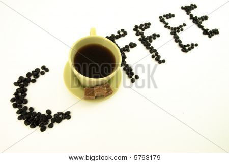 Coffe word