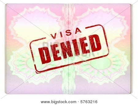 Denied Visa On Passport