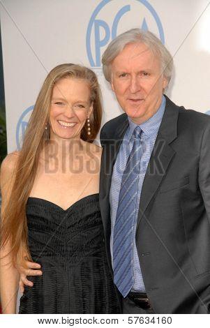 Suzy Amis and James Cameron  at the 21st Annual PGA Awards, Hollywood Palladium, Hollywood, CA. 01-24-10