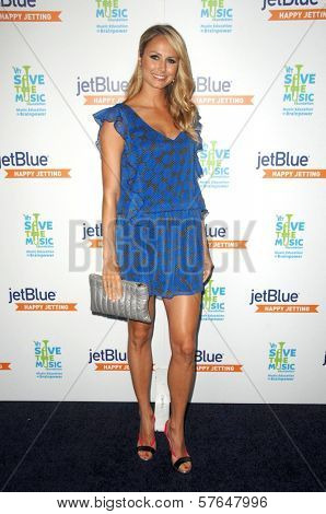 Stacy Keibler at the JetBlue Airways and VH1 Save the Music Party. MyHouse, West Hollywood, CA. 06-17-09
