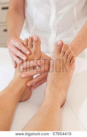 Professional Feet Massage
