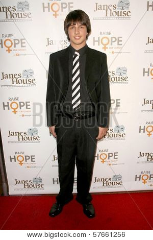 Mitch Holleman at the Raise Hope for the Congo Hollywood Event. Janes House, Los Angeles, CA. 06-28-09