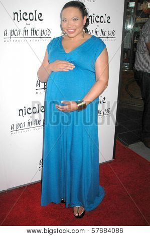 Tisha Campbell-Martin at the 'Nicole' Maternity Collection Private Showing. Pea In The Pod, Beverly Hills, CA. 08-06-09