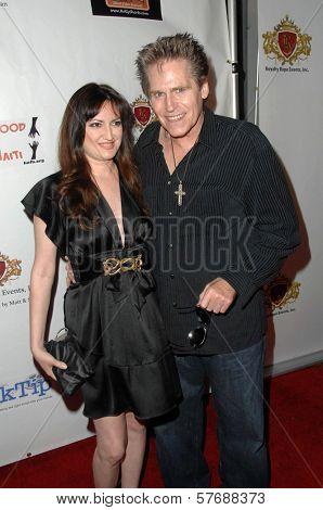 Vikki Lizzi and Jeff Conway  at the Hollyshorts Haiti Charity VIP Webisode Celebration. Kress, Hollywood, CA. 08-08-09
