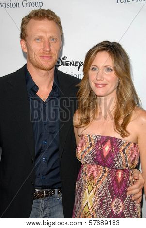 Kevin McKidd and wife Jane  at the 2009 Disney-ABC Television Group Summer Press Tour. Langham Resort, Pasadena, CA. 08-08-09