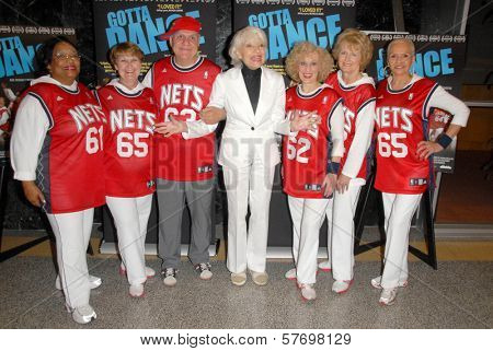 Carol Channing and the Cast of 'Gotta Dance' at the Los Angeles Premiere of 'Gotta Dance'. Linwood Dunn Theatre, Hollywood, CA. 08-13-09