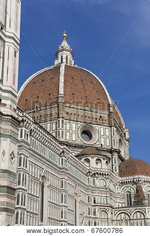 Santa Maria del Fiore cathedral Florence Tuscany Italy poster