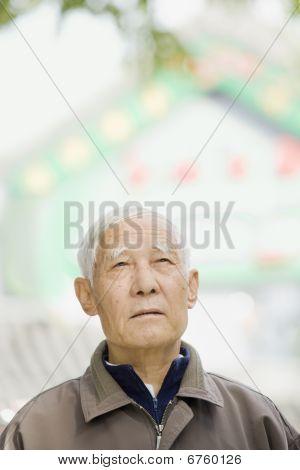 Senior Male Outside
