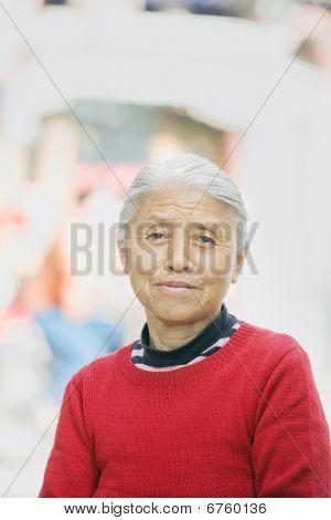 Senior Female Outside