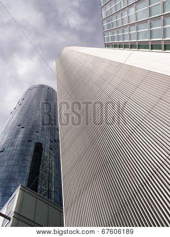 Garden Tower In The Financial District Of Frankfurt