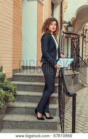 Woman Manager.