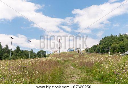 Mountainside Of Zar Mountain