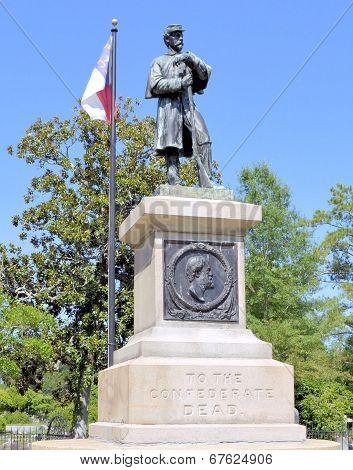 Confederate Soldier Grave Wilmington NC