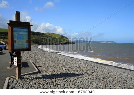 Aberaeron Beach