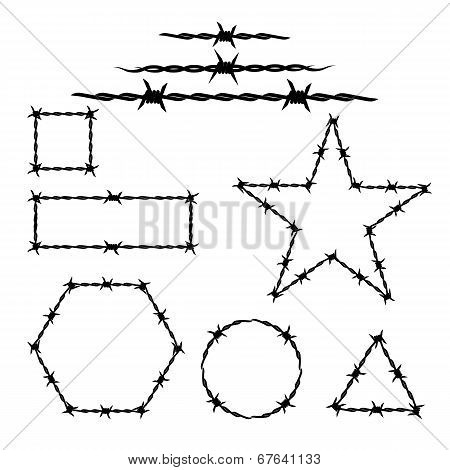 Set Of The Barbwire Tattoo