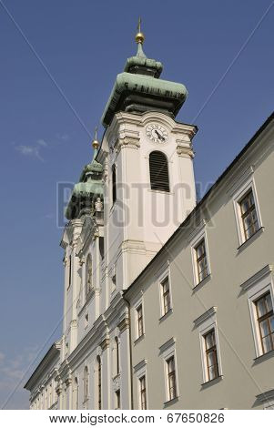 church Saint Ignatius in Gyor Hungary