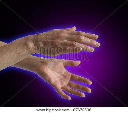 Healing Hands Electromagnetic Field