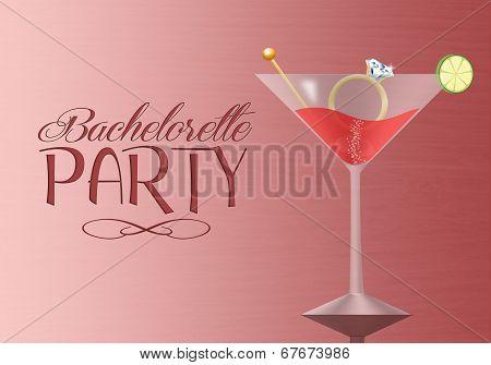 Invitation For Bachelorette Party