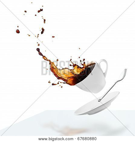 Spilling Coffee