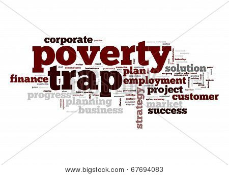 Poverty Trap Word Cloud