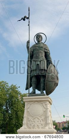 Monument To Dmytry Solunsky, Dmitrov Town, Moscow Region, Russia