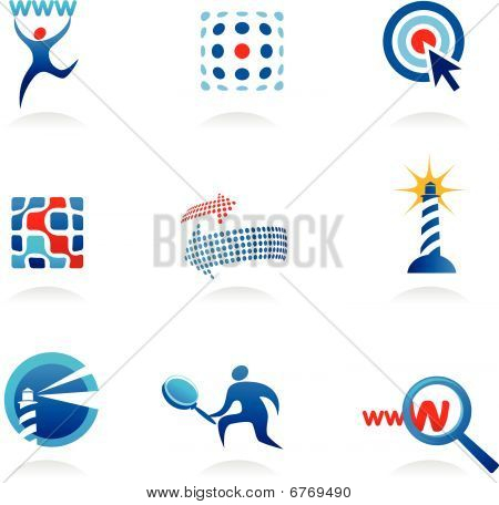 Collection Of SEO Icons