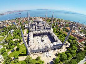 Blue Mosque and Sultanahmet Square