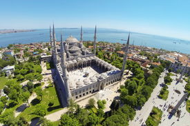 Blue Mosque, built during the rule of Sultan Ahmed I.