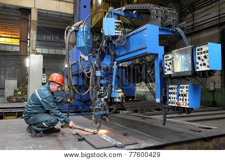 Automated Submerged Arc Welding Process