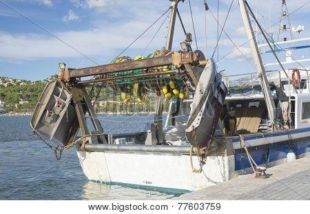Fishing Boat Stern