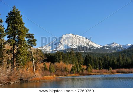 Mt. Lassen above Manzanita, in Northern California