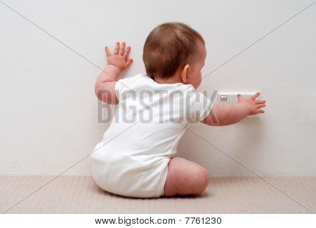 Baby Touching Power Socket