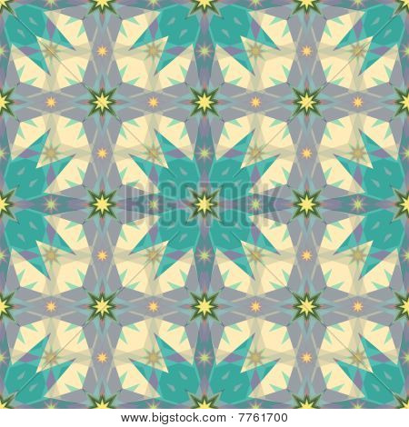Arabesque magic stars texture