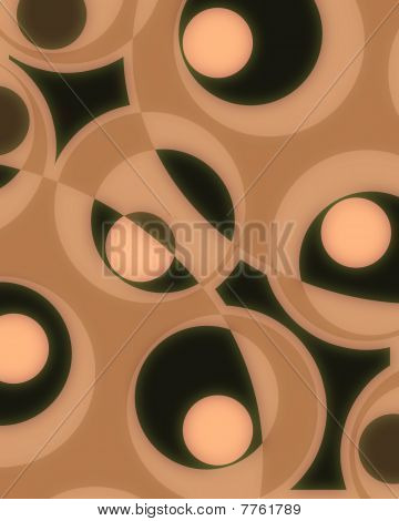 Abstract Groovy Decoration