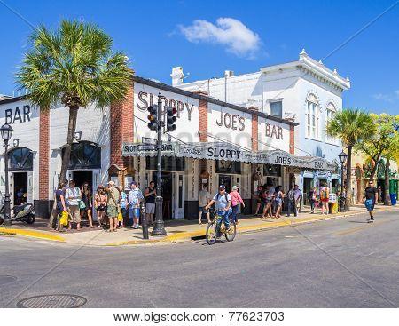 Sloppy Joes Bar In Key West
