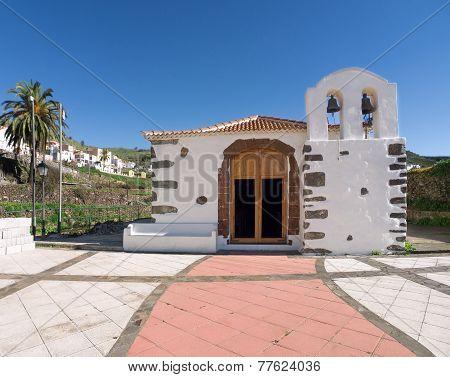 Church in Arure on La Gomera