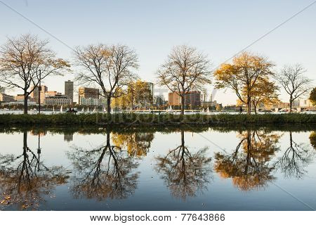 Boston, Storrow lagoon.