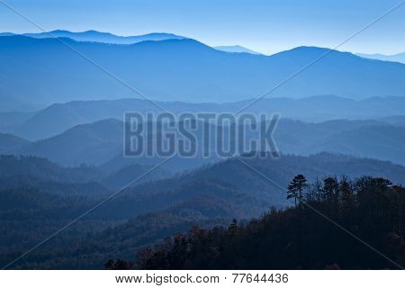 Great Smoky Mountains from Look Rock