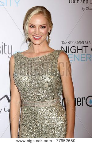 LOS ANGELES - DEC 5:  Kristen Dalton  at the 6th Annual Night Of Generosity at the Beverly Wilshire Hotel on December 5, 2014 in Beverly Hills, CA